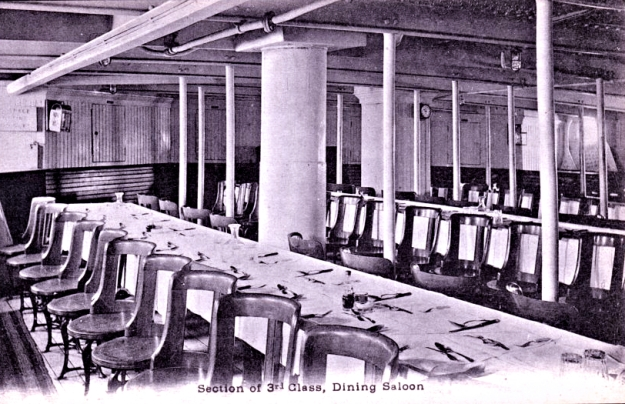 3rd Class Dining Saloon